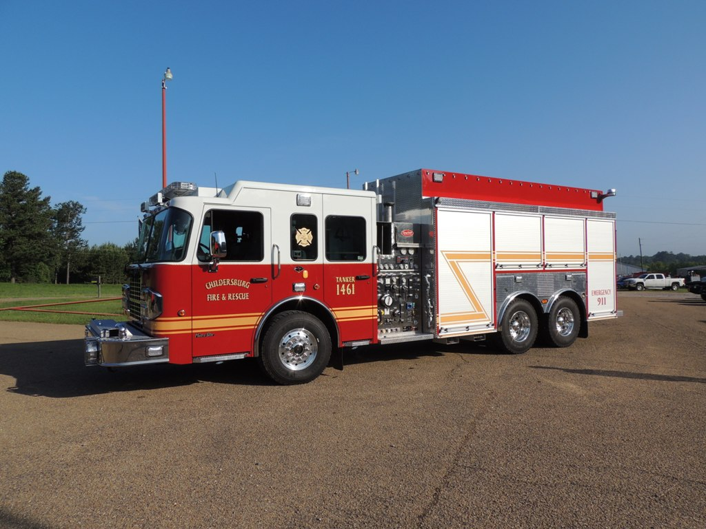 CHILDERSBURG FIRE DEPT.