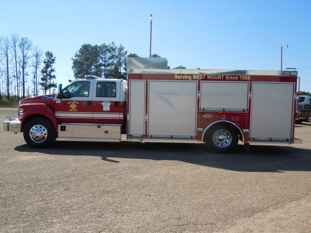 New Deliveries Deep South Fire Trucks